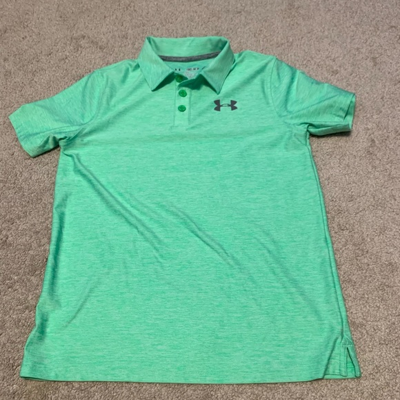 cheap price new style & luxury official site UA Boys golf shirt Youth Medium